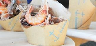Street food pesce cono