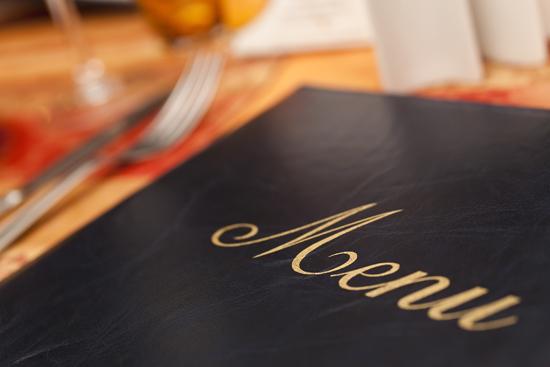 Menu gluten free ristorazione