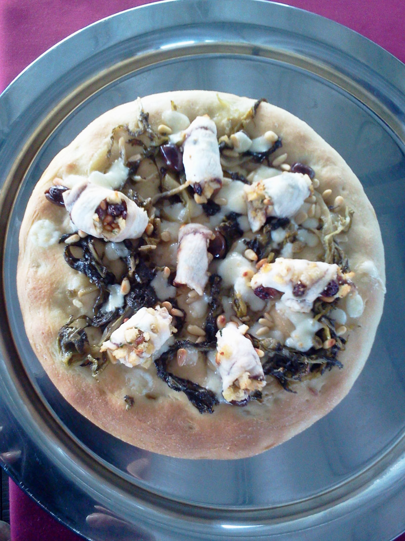 pizza di demetra food