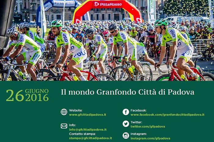 Contatti Granfondo Padova 2016