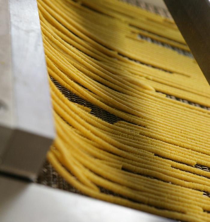 Lavorazione della pasta fresca surgelata in Surgital