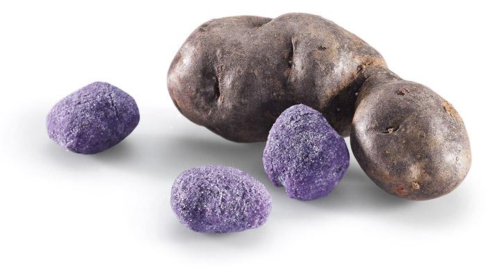 Mammoli - gnocchi di patate viola