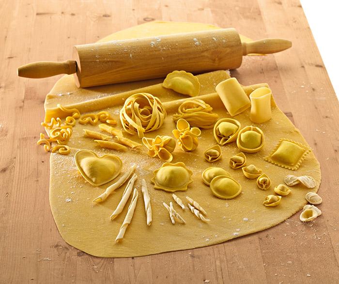 Pasta fresca surgelata