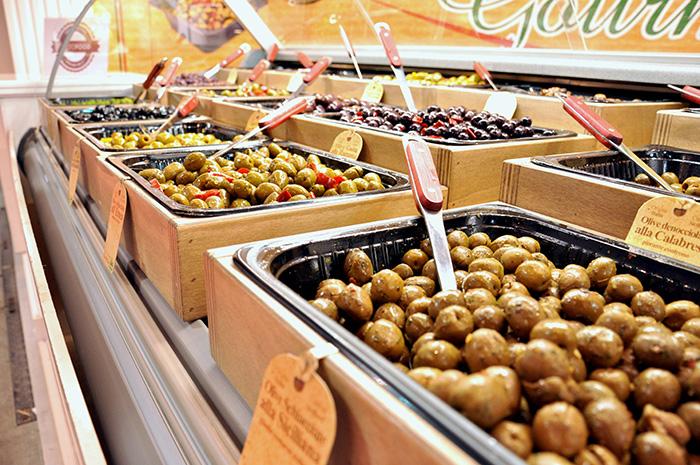 Olive per gastronomia