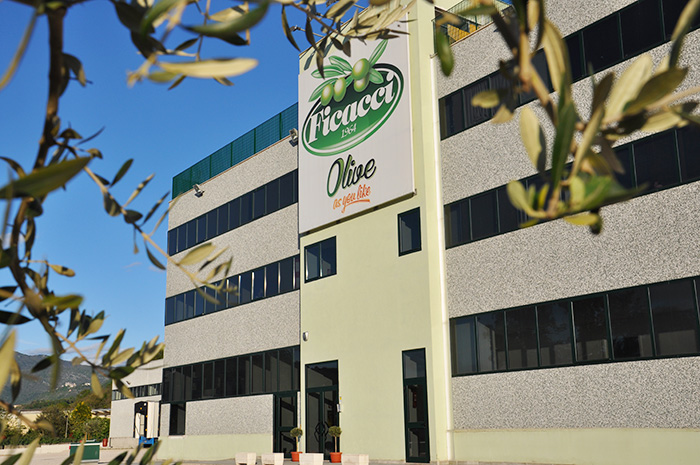 La sede di Ficacci Olive