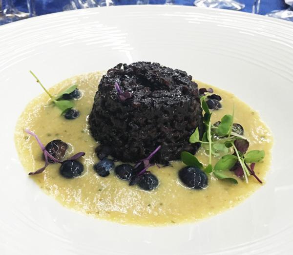 Il primo piatto proposto dallo chef orobico