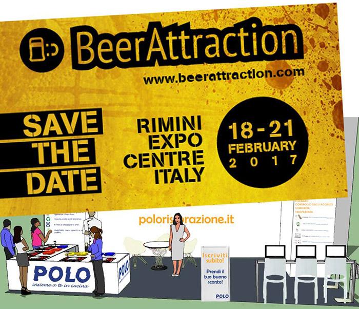 BeerAttraction 2017 - Stand Polo Ristorazione